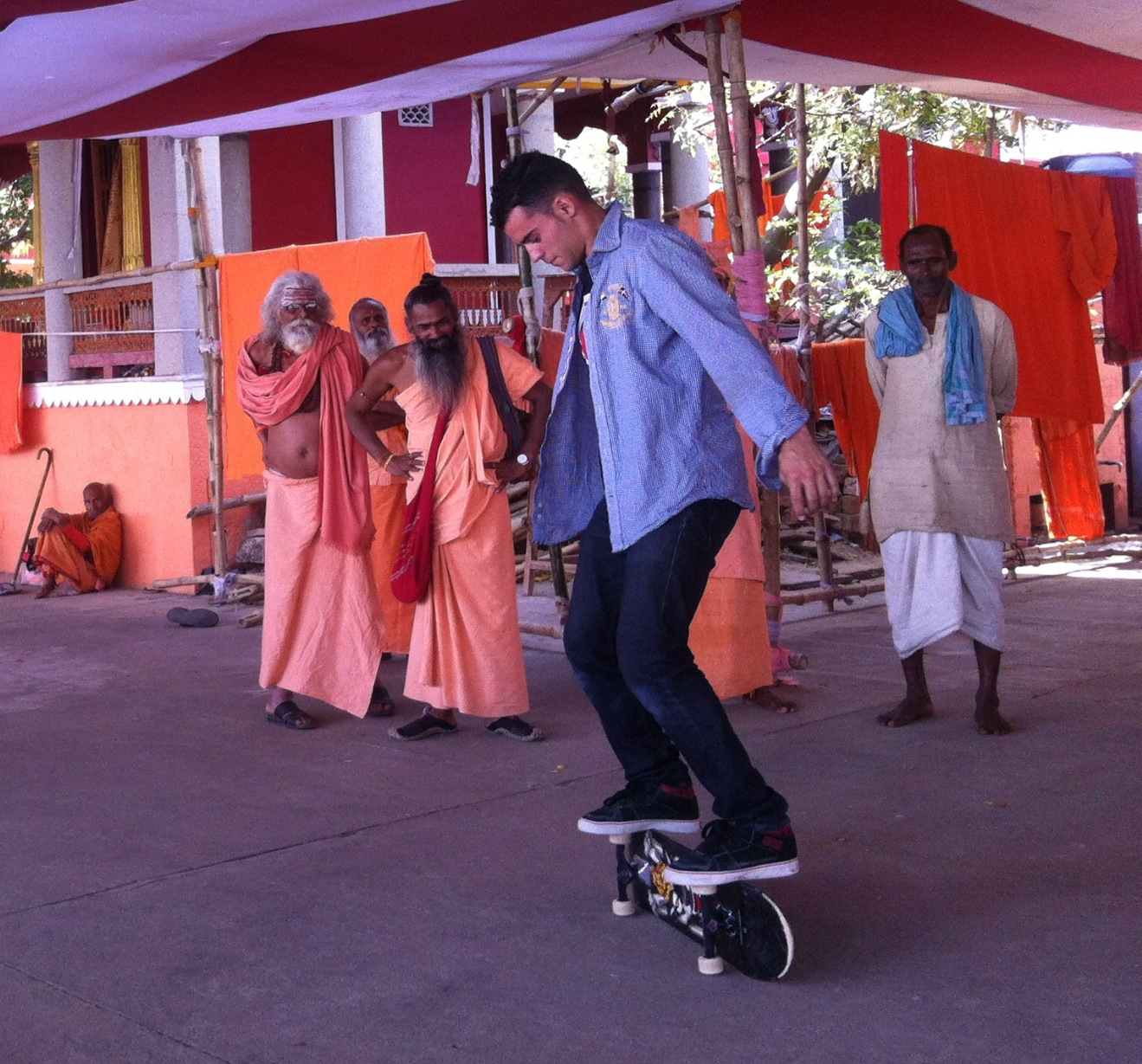 Kilian Martin and his journey through India.