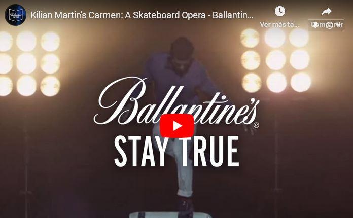 Skateboarding Meets Classical Music in Kilian Martin's Carmen'