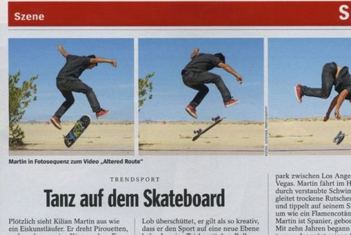 The popular Spiegel Magazine from Germany publishes an article on Kilian.