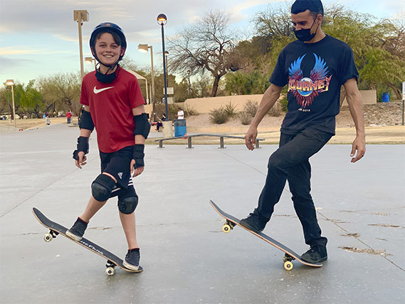 skateboard school Scottsdale Arizona