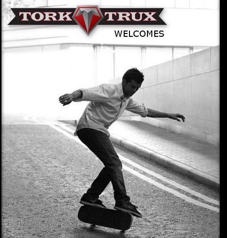 Kilian Martin now sponsored by Tork Trux.
