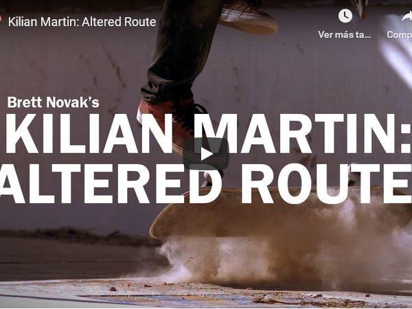 Kilian Martin : Altered Route.