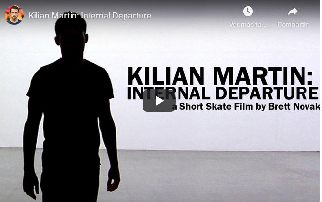 The new Kilian Martin: Internal Departure video.