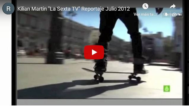 Reportaje de Kilian en 'la Sexta' TV Noticias.