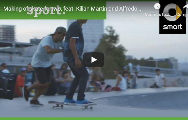 Making of Smart Car Ad feat. Kilian Martin and Alfredo Urbon