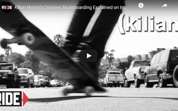 Kilian Martin's Creative Skateboarding Explained on Insight