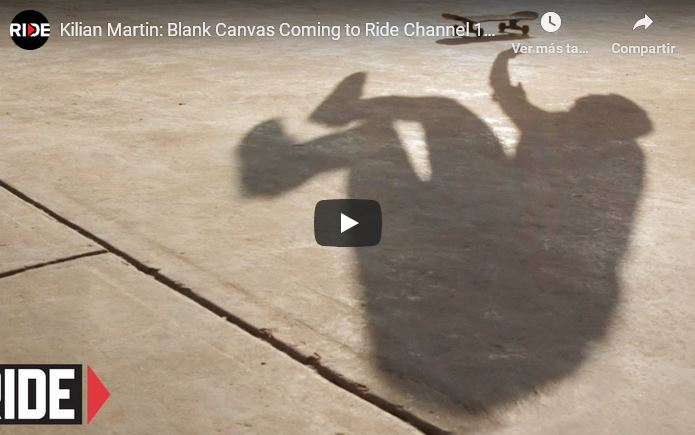 Kilian Martin: Blank Canvas Coming to Ride Channel November 5th 2012