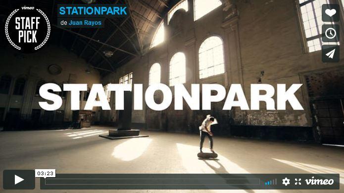 STATIONPARK. One day with Kilian Martin